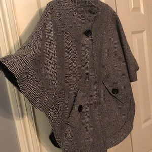 East 5th Jackets & Coats - east5th, patterned poncho coat.